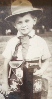 Sheldon as a kid.