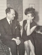Georg Gyssling and Leni Riefenstahl