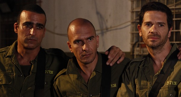 The three Israeli POWs