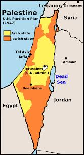 The 1947 United Nations Palestine partition plan