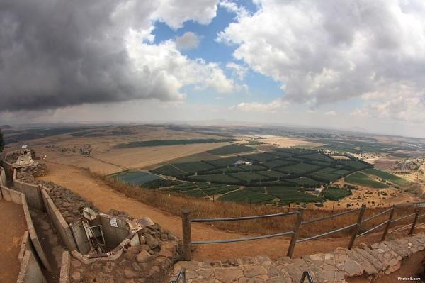 The Golan Heights (Wikimedia)