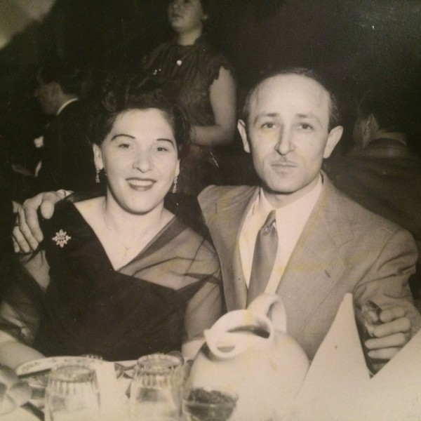 David and Genya Kirshner in the early 1960s (Kirshner family photo)