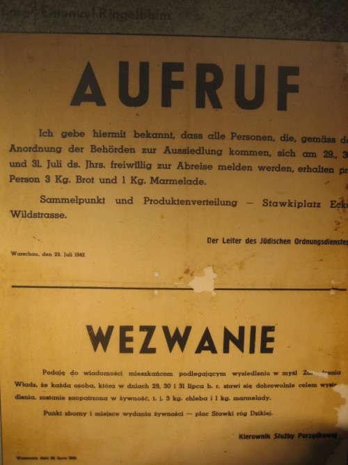 Nazi poster (Sheldon Kirshner photo)