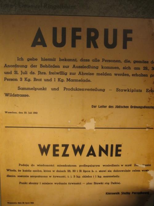 Nazi poster (Sheldon Kirshner photo)
