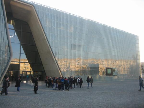 The Polin Jewish museum in Warsaw( Sheldon Kirshner photo)