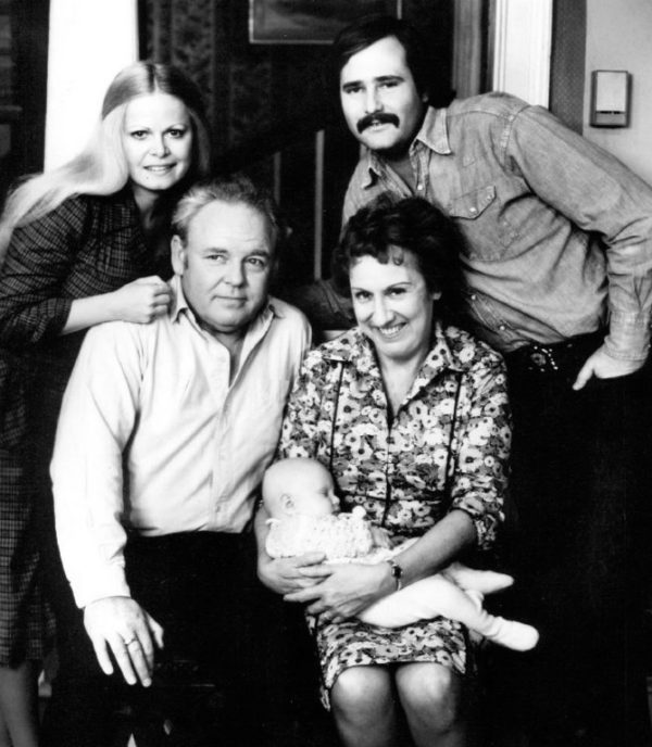 The cast of All in the Family (Wikimedia Commons)