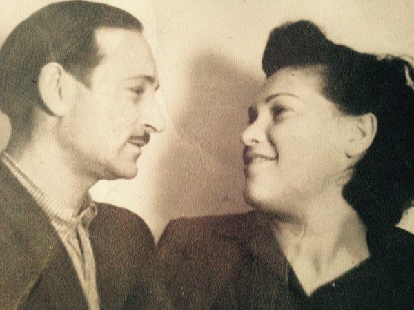 David and Genya Kirshner after World War II (family photo)