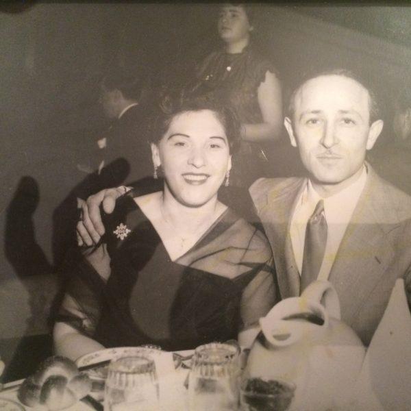 Genya and David Kirshner in Montreal, 1950s (family photo)