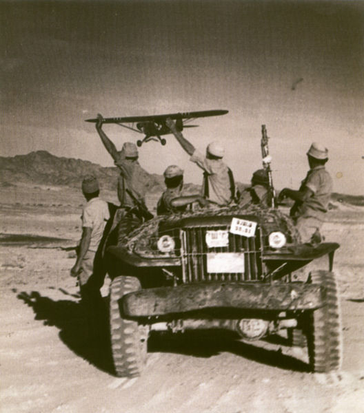 Israeli troops in Sinai