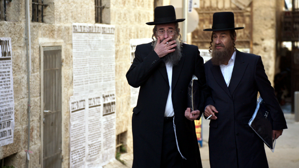 Shulum, left, and his brother, Nachum