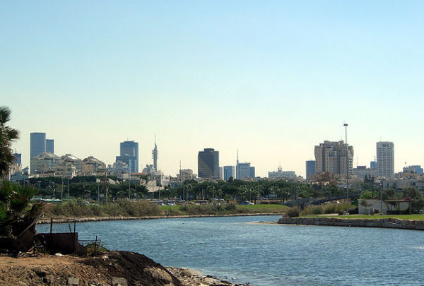 The Yarkon River in Tel Aviv today