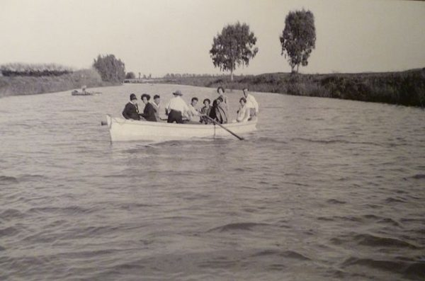 The Yarkon before its decline