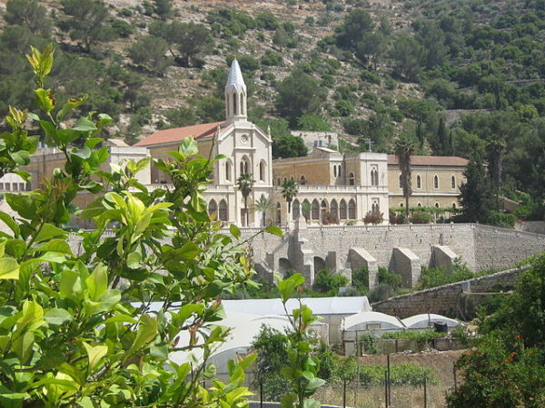 A church in the West Bank