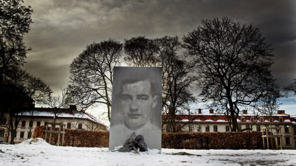 A monument in Sweden pays tribute to Raoul Wallenberg