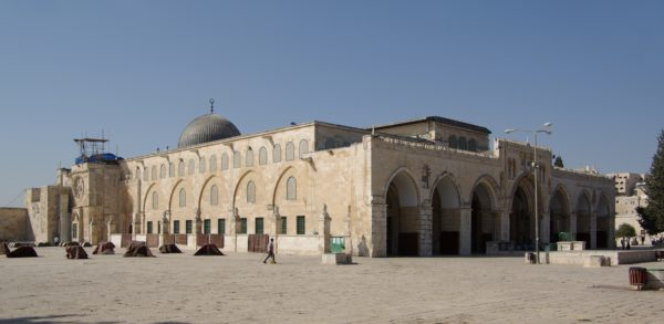 The Al Aqsa mosque in East Jerusalem