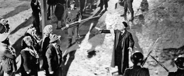 The rabbi exhorts Jews to resist Nazis