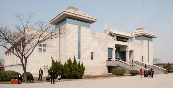 The terracotta warriors' museum