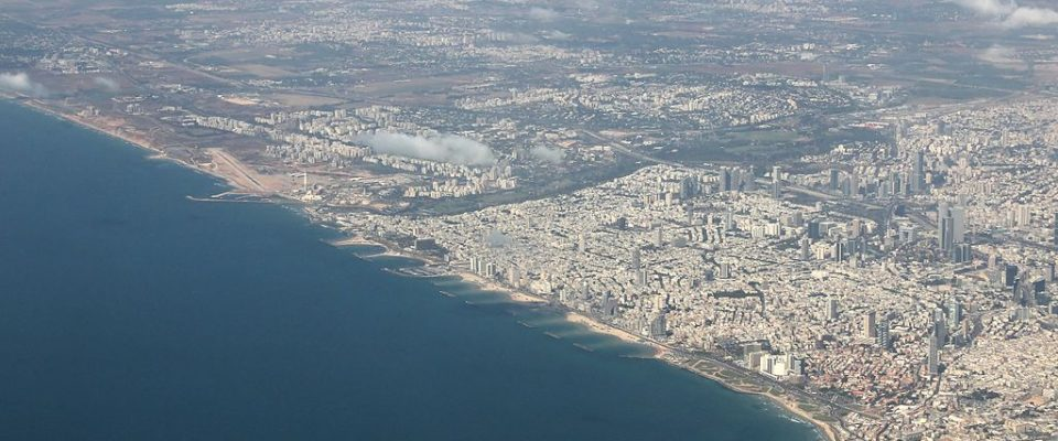 The Old And New In Tel Aviv