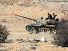Syria's Latest Offensive Concerns Israel