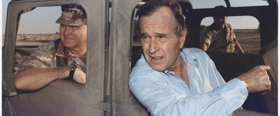 George H. W. Bush And The Middle East