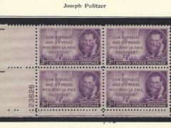 Joseph Pulitzer Reinvented American Journalism